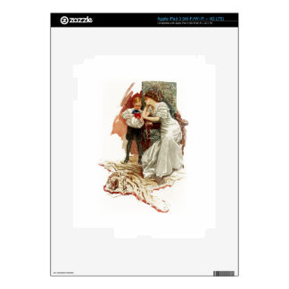 Harrison Fisher Hearts Desire This is My Age Book iPad 3 Skin