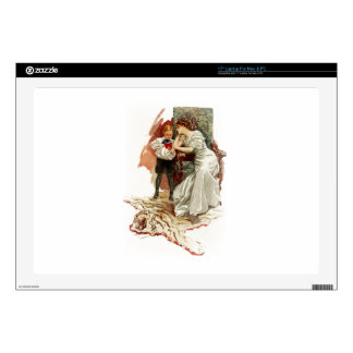 """Harrison Fisher Hearts Desire This is My Age Book Skin For 17"""" Laptop"""