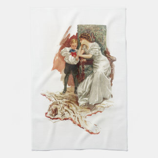 Harrison Fisher Hearts Desire This is My Age Book Towels