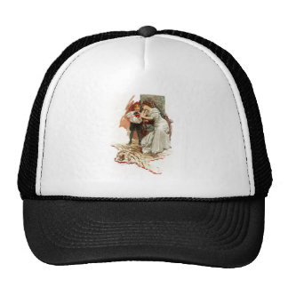 Harrison Fisher Hearts Desire This is My Age Book Trucker Hat