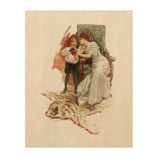 Harrison Fisher Hearts Desire This is My Age Book Wood Wall Art