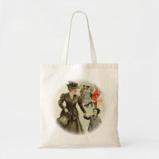 Harrison Fisher Heart's Desire Xmas Santa Claus Tote Bag