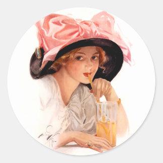 Harrison Fisher: Refreshment Sticker