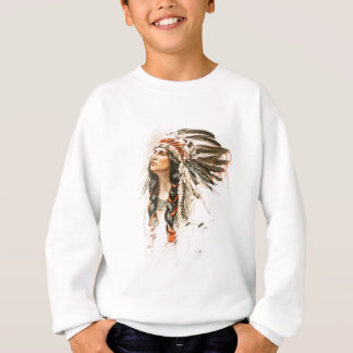 Harrison Fisher Song Hiawatha Indian head dress 1