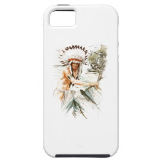 Harrison Fisher Song Hiawatha Indian head dress 2 iPhone SE/5/5s Case
