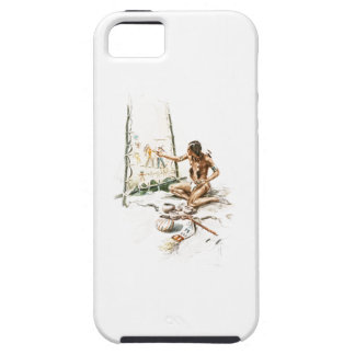 Harrison Fisher Song Hiawatha Red Indian Painting iPhone SE/5/5s Case