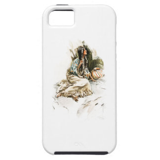 Harrison Fisher Song Hiawatha Red Indian Squaw 1 iPhone SE/5/5s Case