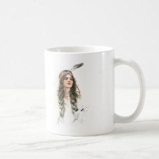 Harrison Fisher Song of Hiawatha Minnehaha Coffee Mug