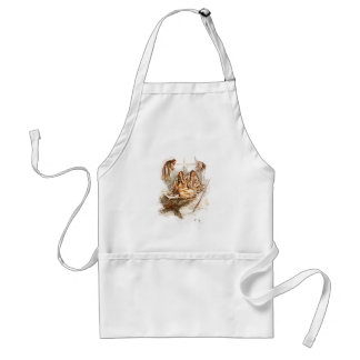 Harrison Fisher Song of Hiawatha Preparing Food Adult Apron