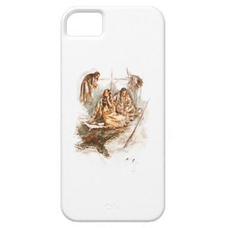 Harrison Fisher Song of Hiawatha Preparing Food iPhone SE/5/5s Case