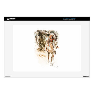 Harrison Fisher Song of Hiawatha Red Indian Laptop Decals