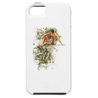 Harrison Fisher Song of Hiawatha Red Indian River iPhone SE/5/5s Case