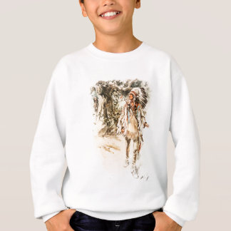 Harrison Fisher Song of Hiawatha Red Indian Sweatshirt