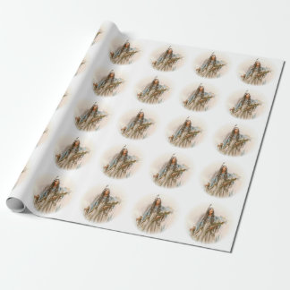 Harrison Fisher Song of Hiawatha The Lonely Maiden Wrapping Paper