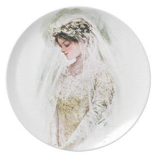 Harrison Fisher: The Bride Plate