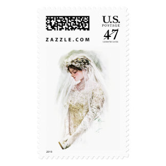 Harrison Fisher: The Bride Postage