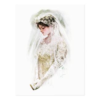 Harrison Fisher: The Bride Postcard