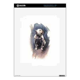 Harrison Fisher The Day of the Dog Bulldog Skins For The iPad 2