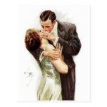 Harrison Fisher: The Kiss Postcard
