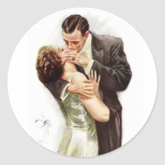 Harrison Fisher: The Kiss