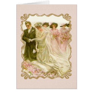 "Harrison Fisher ""The Wedding"" Greeting Card"