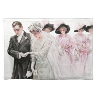 Harrison Fisher: The Wedding Cloth Placemat