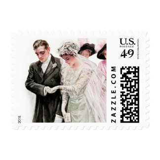 Harrison Fisher: The Wedding Stamp