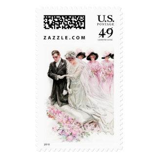 Harrison Fisher: The Wedding Postage Stamp