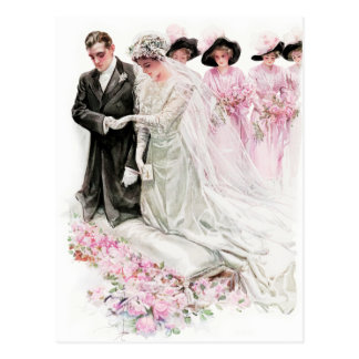 Harrison Fisher: The Wedding Postcard