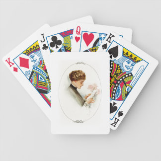 Harrison Fisher Their Heart's Desire Barbara Bicycle Playing Cards