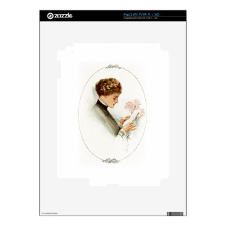 Harrison Fisher Their Heart's Desire Barbara Decals For iPad 2
