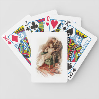 Harrison Fisher Their Heart's Desire You're Sweet Bicycle Playing Cards