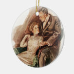 Harrison Fisher Their Heart's Desire You're Sweet Ceramic Ornament