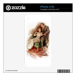 Harrison Fisher Their Heart's Desire You're Sweet iPhone 4S Decals