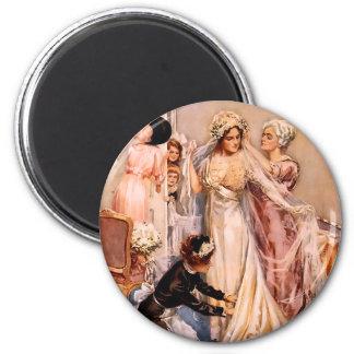 Harrison Fisher: Wedding 2 Inch Round Magnet
