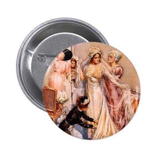 Harrison Fisher: Wedding Pins
