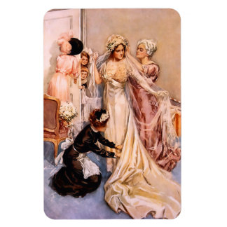 Harrison Fisher: Wedding Rectangular Photo Magnet