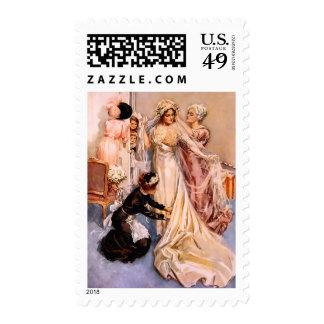 Harrison Fisher: Wedding Stamp