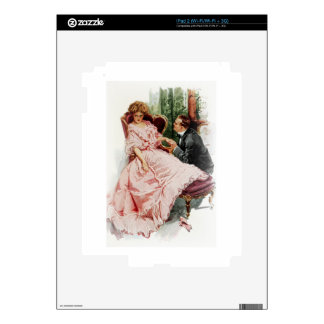 Harrison Fisher When a Man Marries Making Amends Decal For The iPad 2