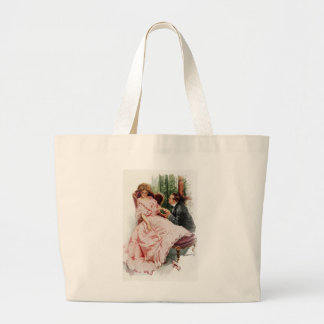 Harrison Fisher When a Man Marries Making Amends Large Tote Bag