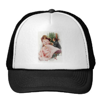 Harrison Fisher When a Man Marries Making Amends Trucker Hat
