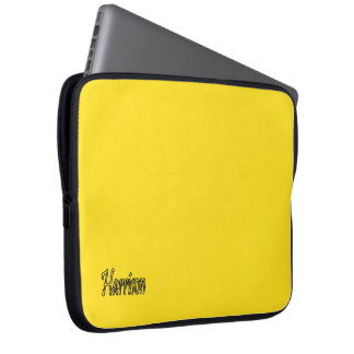Harrison Intense Yellow Laptop Sleeve