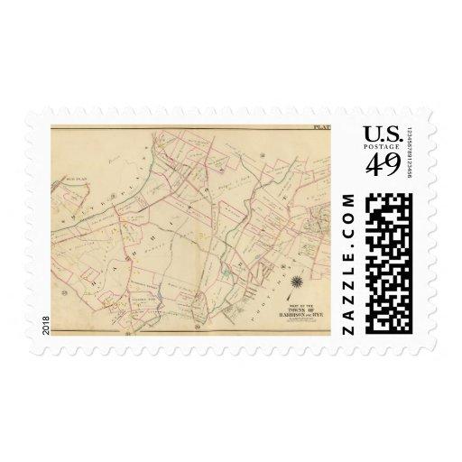 Harrison, Rye, New York Postage Stamp