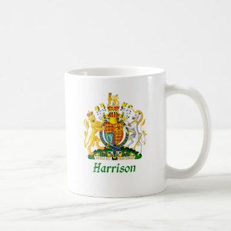 Harrison Shield of Great Britain Coffee Mugs