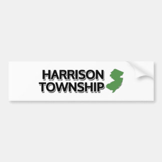 Harrison Township, New Jersey Bumper Sticker