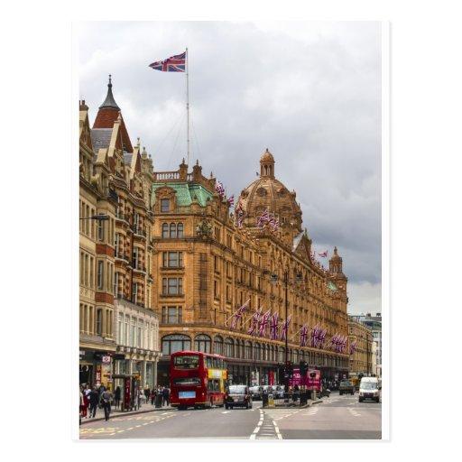 Harrods de Knightsbridge Postales