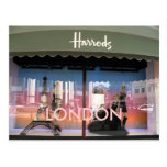 Harrods London postcard