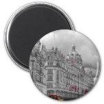 Harrods of Knightsbridge bw hdr Fridge Magnet
