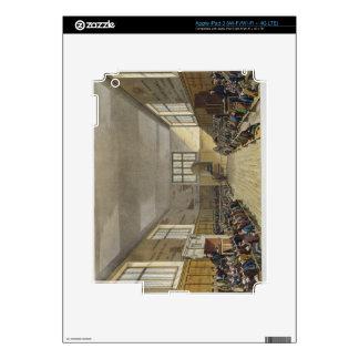 Harrow School Room from 'History of Harrow School' iPad 3 Decal