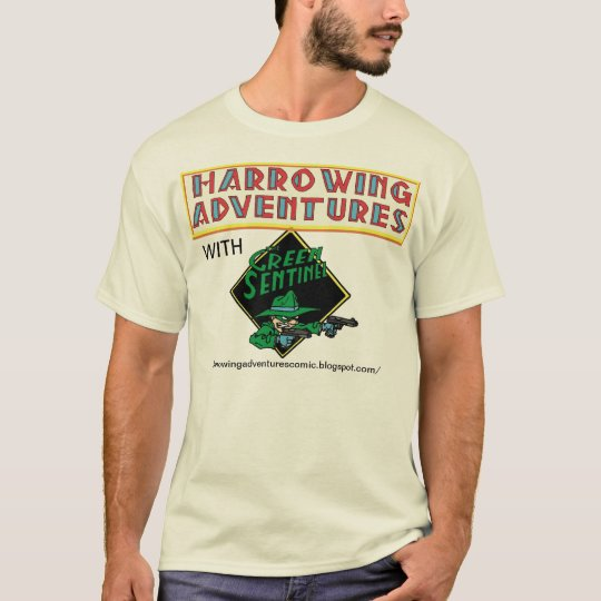 Harrowing Adventures with the Green Sentinel! T-Shirt